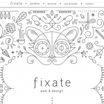 Good inspiration web design of the day:『Fixate』