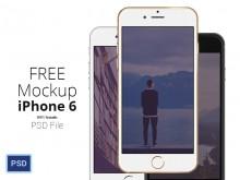 フリー素材 iPhone 6 モックアップまとめ – 01