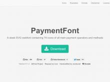 クレジットの記載に便利なアイコンフォント『PaymentFont』でECサイトをおしゃれに飾る