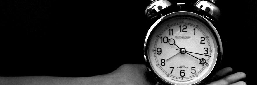 時間を意識する