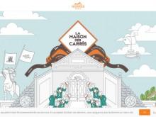 Good inspiration web design of the day:『LA MAISON DES CARRES』