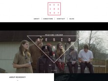 Good inspiration web design of the day:『R E S I D E N C Y』