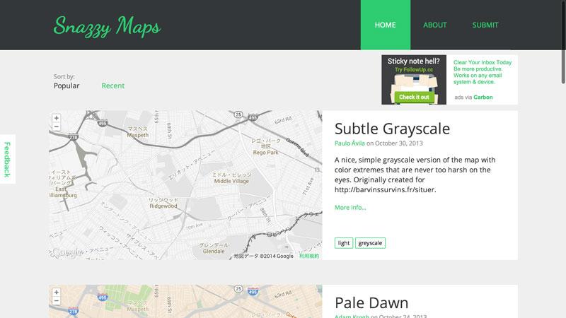Snazzy-Maps